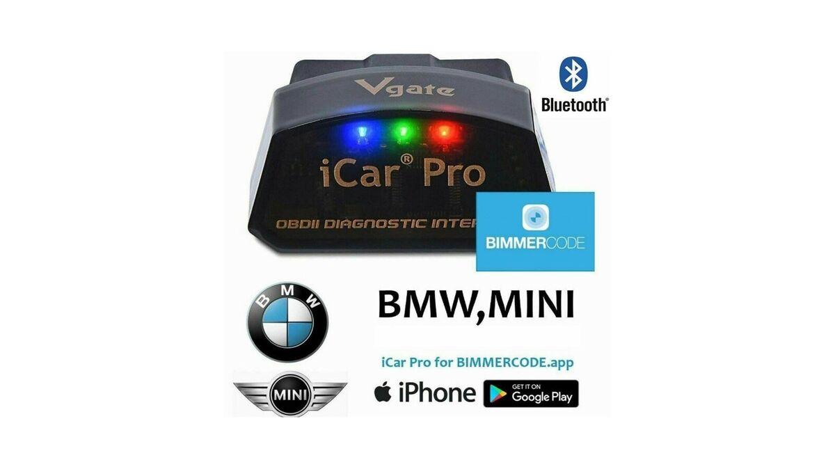 Bimmercode Obd2 Bluetooth Adap - Anyx
