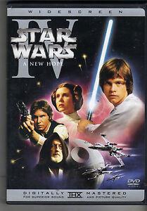 Star Wars Episode Iv A New Hope Dvd 2004 Widescreen Ln Ebay