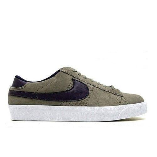 Seasonal price cuts, discount benefits Nike BLAZER LOW SB Grey Purple Iron Quasar Purple Discounted Price reduction Men's Shoes