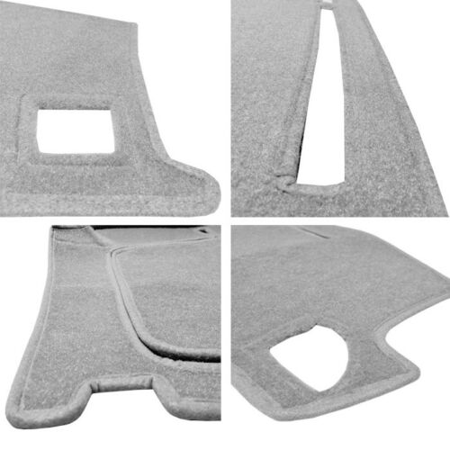 Fits 2001-2002 ACURA  MDX  DASH COVER MAT  DASHBOARD PAD LIGHT GREY