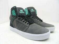 a921ad5308f7 item 2 Supra Men s Atom Mid Top Skate Shoe Atom Grey Black White Size 9M -Supra  Men s Atom Mid Top Skate Shoe Atom Grey Black White Size 9M
