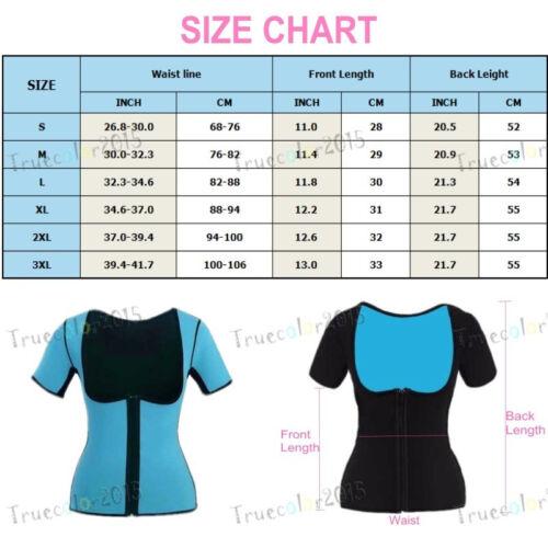 EXTREME thermo Miss Neoprene Vest Sweat Sauna Slimming Tummy shaper Fitness wear