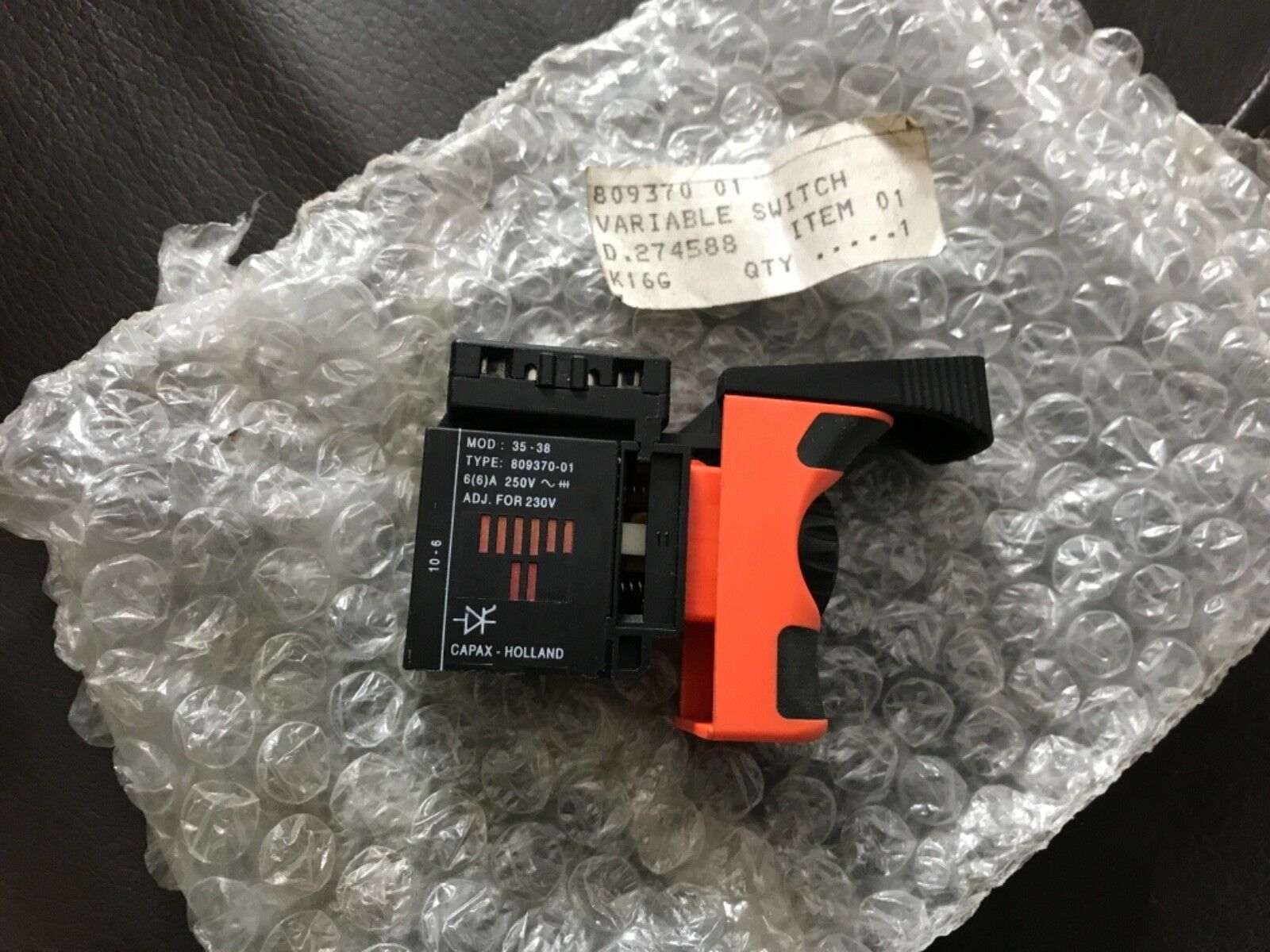 Dewalt - Switch Variable Speed 809370-01