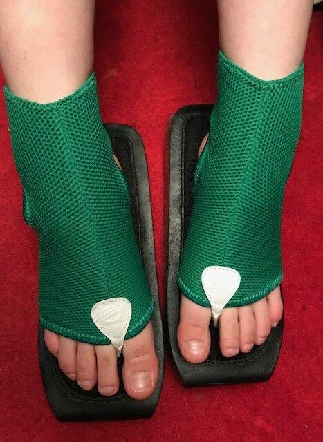 Y-3 Yohji Yamamoto x Adidas Green Ninja Sandal Size L JPN 25,5-26,5 cm