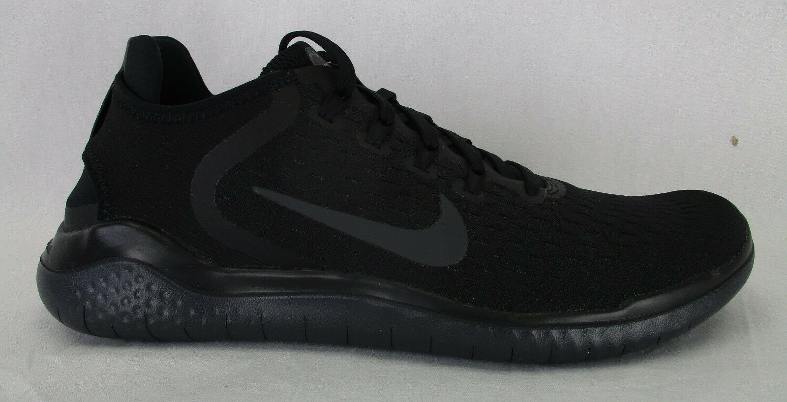 bc71a3f9f65c Nike Mens Mens Mens Free RN 2018 Running Shoes 942836 002 Black Anthracite  Size 11