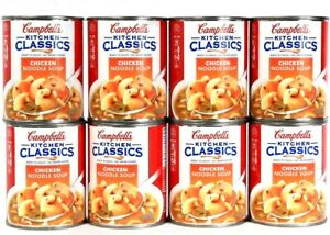 8 Cans Campbells Kitchen Classics Ready To Enjoy No Water Needed Chicken Noodle 51000274410 Ebay