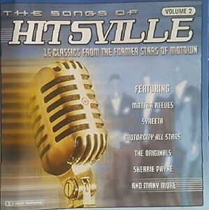 Various-Artists-The-Songs-of-Hitsville-Vol-2-CD