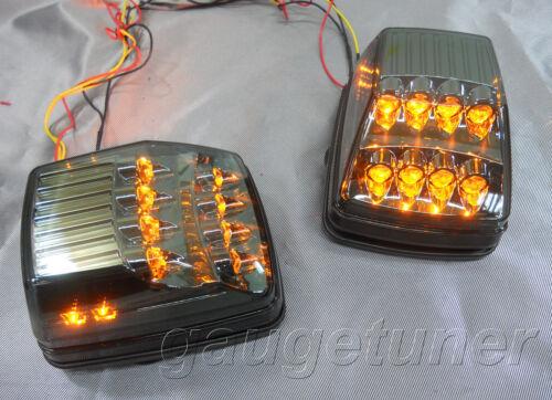 Fits Mercedes W463 G-Class 90-16 Turning Signal LED Light Chrome//Smoke AB//AB