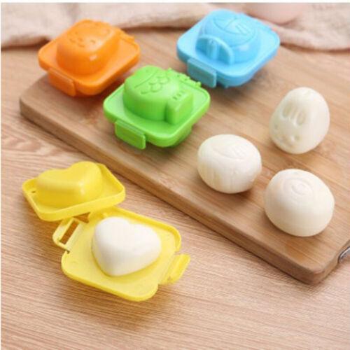 DIY Rice Ball Mold Tool Rabbit Bear Fish Heart Egg Make Cartoon Pattern Moulds