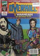 UK MARVEL COMIC OVERKILL # 11 FROM 1992 COM-145