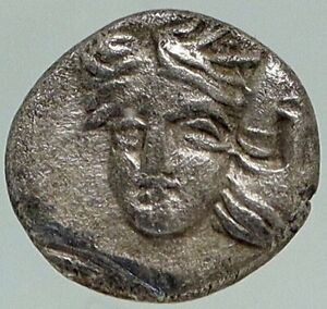 ISTROS-in-THRACE-Authentic-Ancient-400BC-Rare-Silver-OBOL-GREEK-Coin-NGC-i84947