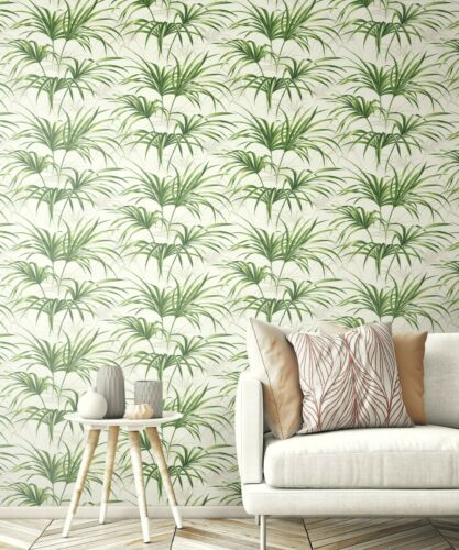 """Tropical Peel and Stick Wallpaper Palm Leaf Stick On Removable Roll 20.5/"""" x 18/'"""