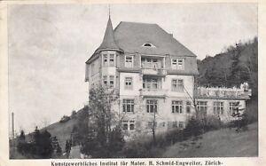 Zürich Zürich Ak Uralt Kunstgewerbliches Institut Für Maler Suisse Schweiz 1809241 SorgfäLtige FäRbeprozesse Ansichtskarten