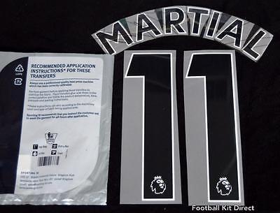 Ibrahimovic #10 Man United 2017-2018 Premier League Away Football Nameset shirt