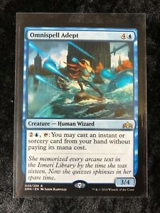 4x Omnispell Adept NM-Mint English Guilds of Ravnica MTG Magic