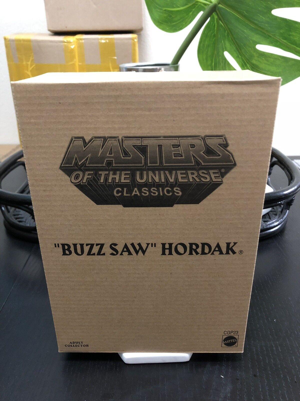 Masters Of The Universe Classics BUZZ BUZZ BUZZ SAW HORDAK Figure MOTUC NIB 88618f