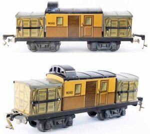 Train-echelle-O-JEP-FOURGON-FLECHE-D-039-OR-jouet-ancien