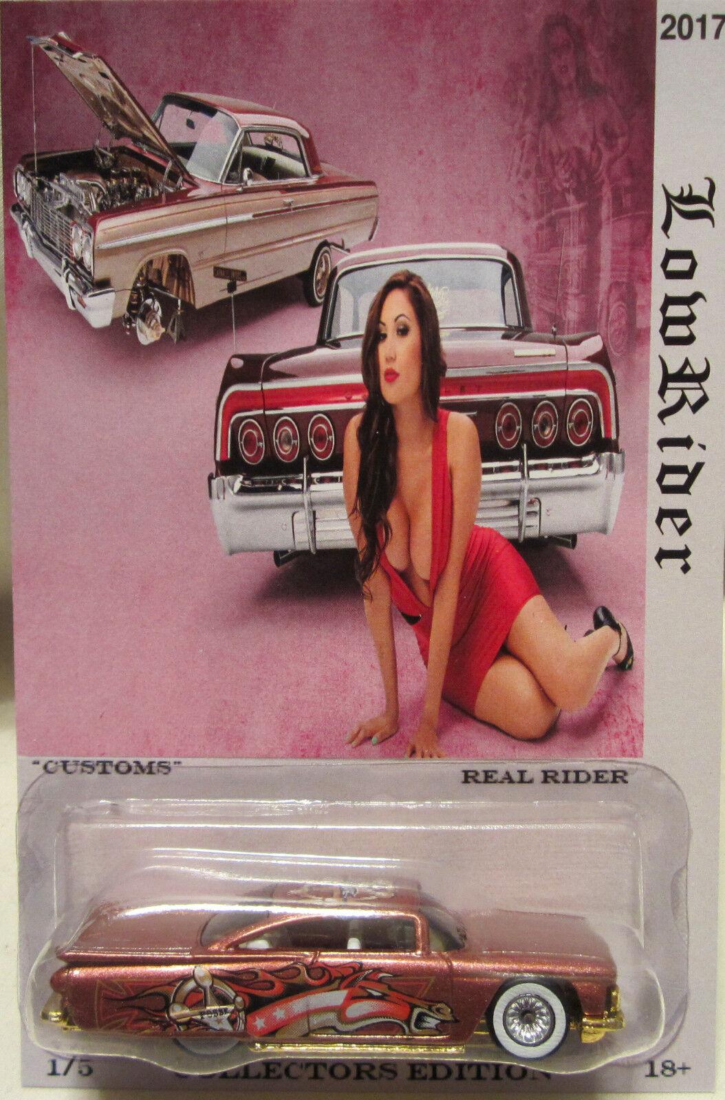 almacén al por mayor Hot Wheels a Medida '59 Chevy Impala    Nadadores Profundos  Real Riders Limitado  descuento de ventas