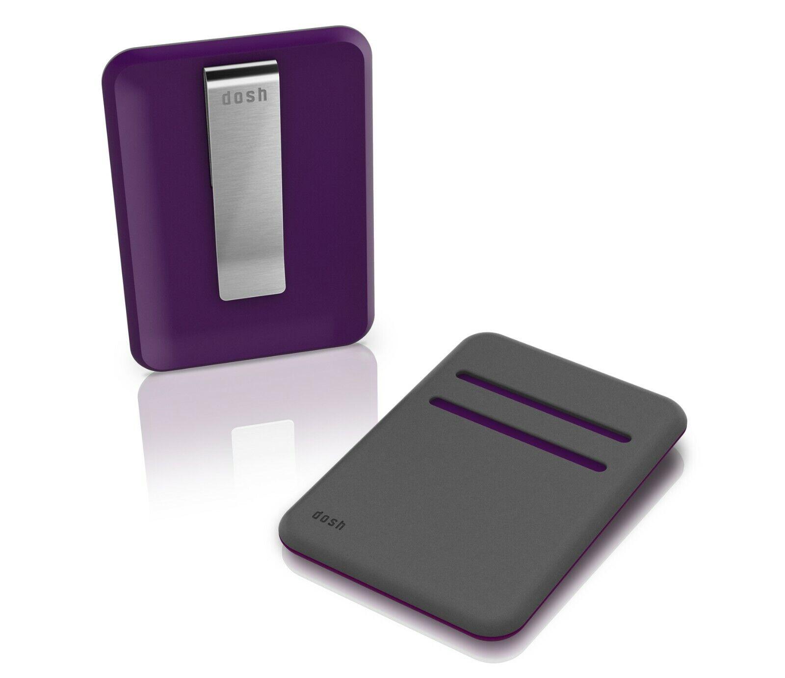 DOSH - Blade compact men's designer wallet - Phantom