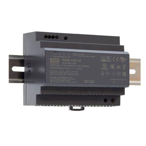 Schaltnetzteil 48V 3,2A 153,6W für DIN-Schiene HDR-150-48 von Meanwell