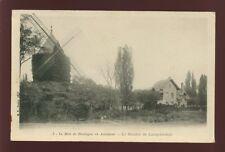 France PARIS Bois de Boulogne Moulin de Longchamps windmill u/b PPC c1902