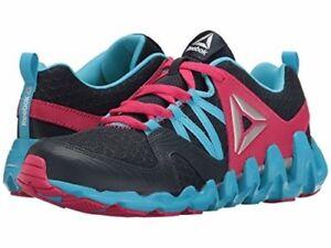 2366de04cad5 Reebok Girls Junior Zig Big N  Fast Fire Running Shoes Size 3.5