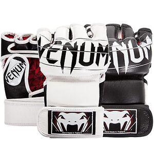 Venum Undisputed 2.0 Nappa Leather MMA Gloves Black