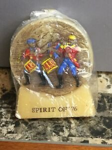 Vintage America's Heritage Spirit Of '76 Hand Painted Candle Sealed