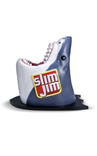 Slim Jim Collectable Great White Shark Head Wall Mount