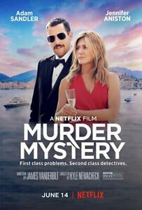 Murder Mystery DVD (2019)   BRAND NEW Free Shipping With Tracking