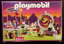Playmobil 5511 Children's Birthday Party Victorian 1998 Magician Play Set w/ Box