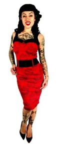 Switchblade Sacred Rockabilly Stiletto Heart Liebling Sd133sh Pin Punk Kleid Up rrZqwC