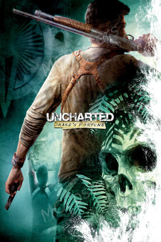 NVG109 Uncharted Drake/'s Fortune PS4 PS3 XBOX ONE 360 RGC Huge Poster