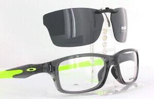 9001b950bd Custom Fit Polarized CLIP-ON Sunglasses For Oakley OX8030 55X18 OX ...