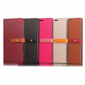COQUE-ETUI-HOUSSE-PORTEFEUILLE-CHIC-CUIR-NEUF-GALAXY-S7-S8-A5-J3-J5-S9-NEW-EDGE