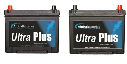 la plupart HILUX Surfer Paire de 1 X 069 /& 1 x 068 Batteries