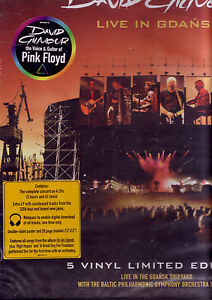 david gilmour live in gdansk 5 lp box set rare sealed us ebay. Black Bedroom Furniture Sets. Home Design Ideas