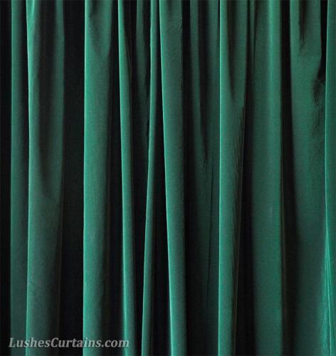 Vert 213cm H Panneau Rideau En Velours avec//œillet œillet en haut