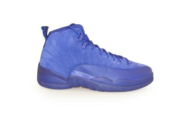 0367c71fe282 Nike Air Jordan 12 Retro XII Deep Royal Blue Suede Men Aj12 Shoes  130690-400 UK 10 for sale online