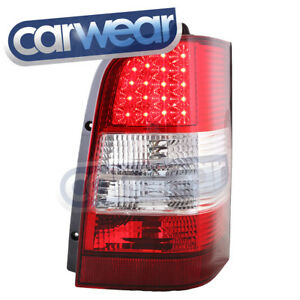 MERCEDES BENZ VITO VAN 98-04 CLEAR RED LED TAIL LIGHTS LAMPS