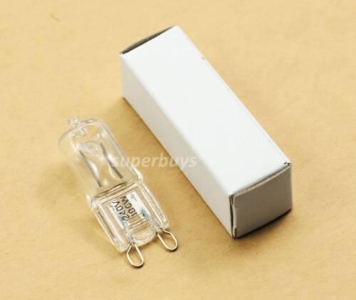 100W G9 Clear Tungsten Halogen Dimmable Bulb Light Lamp Globe 240V 2kHr Watt