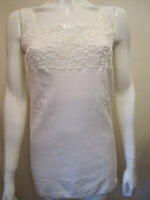 Nina von C Fine Cotton Achselhemd Unterwäsche Unterhemd Top Damen 70300499