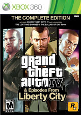 Grand Theft Auto IV: COMPLETE Xbox 360, New Xbox 360