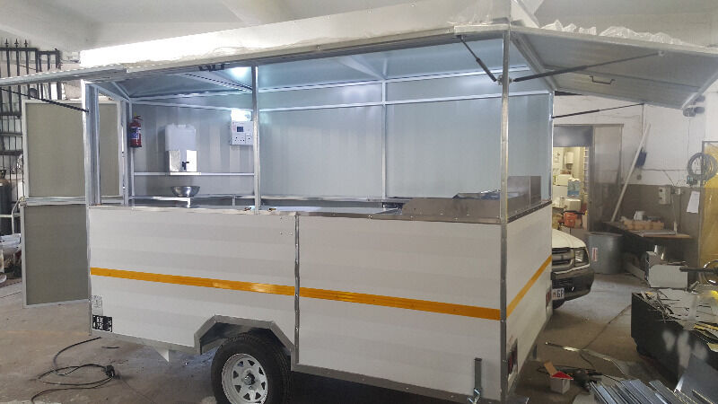 Fully Equipt Food Trailer With Electric Power