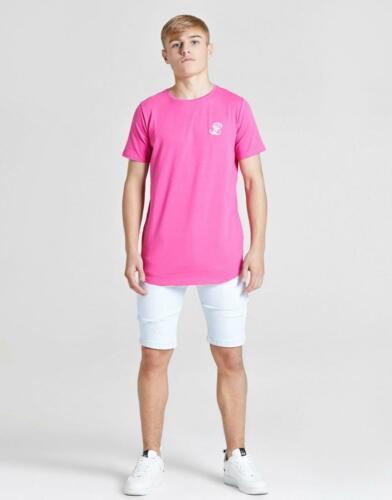 New ILLUSIVE LONDON Boys' Core Short Sleeve T-Shirt