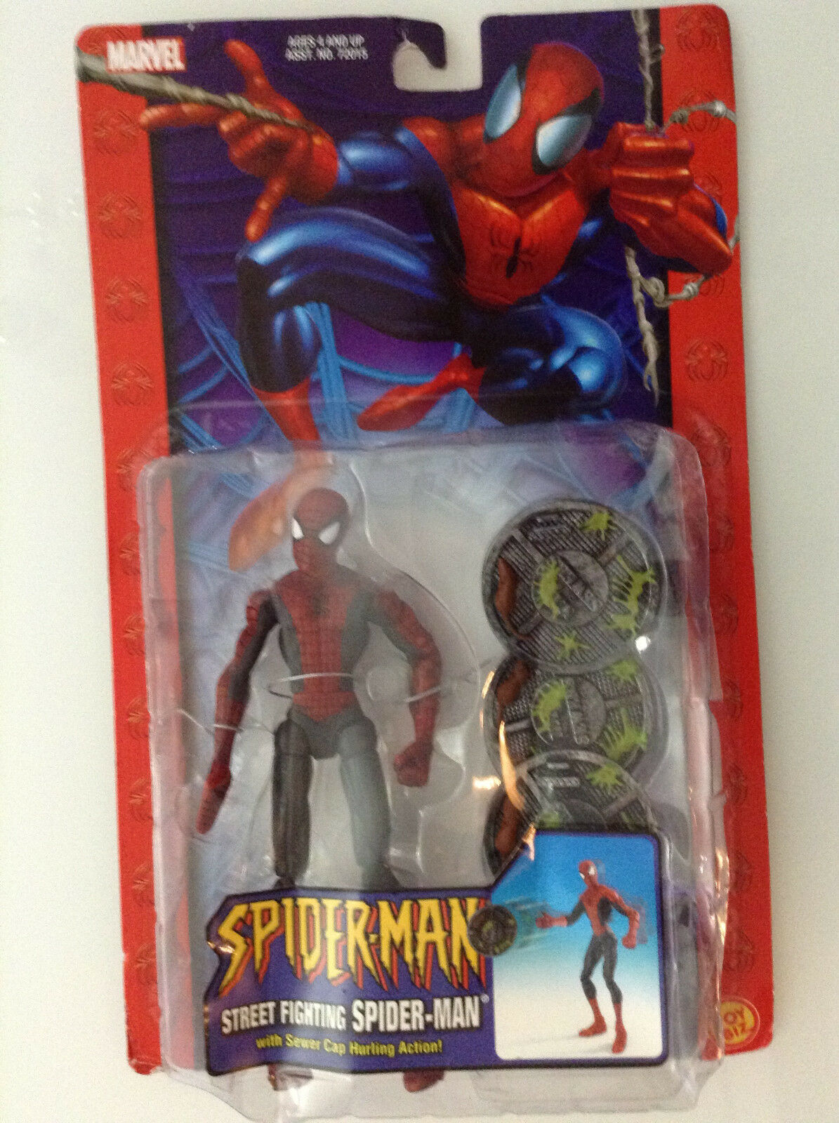 SPIDER-MAN STREET FIGHTING FIGURE 6  TOYBIZ CLASSIC 2005 NEW MARVEL(NOW AMAZING1