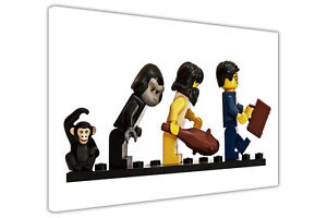 EVOLUTION-OF-LEGO-KIDS-CANVAS-PRINTS-WALL-ART-PICTURES-WALL-DECORATION-PHOTOS