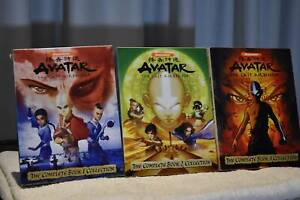 Avatar-The-Last-Airbender-Complete-Collection-Book-1-2-3-Mint-Condition
