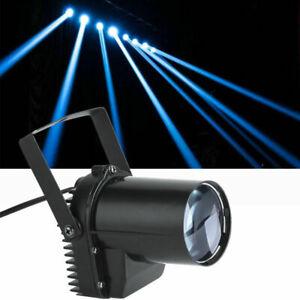 3W LED Pinspot Punktstrahler Bühnenlicht Disco Bar DJ Bühnenbeleuchtung Weiß 01
