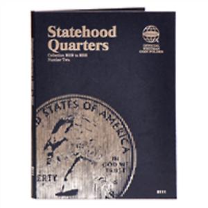 Washington Quarters Statehood 2002-2005 Whitman Folder # 2